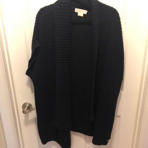 Michael Kors Short Sleeve Cardigan Sweaters